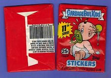 GARBAGE PAIL KIDS SERIES 11 UNOPENED PACK  5 STICKERS FROM BOX GPK