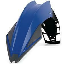 garde boue avant universel  enduro super moto bleu  POLISPORT  EXURA  UFX