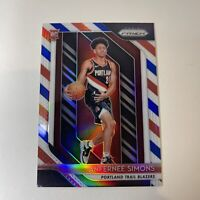 🔥2018-19 Prizm Anfernee Simons Red White Blue Rookie RC Refractor #61 Blazers🔥