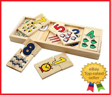 Montessori Educational Wooden Board Toys for Children Math Puzzle Kids Teaching