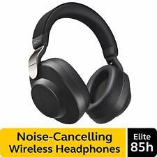 Jabra Elite 85h Wireless Noise Canceling Over-the-Ear Headphones Black Alexa