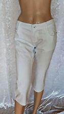 Damen-Caprihosen aus Baumwollmischung Hosengröße 40 Damenhosen