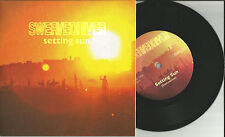 SWERVEDRIVER  Setting Sun w/ UNRELEASED TRK Limited HEAVYWEIGHT 7 INCH vinyl