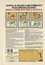 X4474 Scuola Radio Elettra - Pubblicità 1979 - Advertising