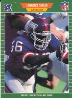 Lawrence Taylor 1989 Pro Set #292 New York Giants Football Card