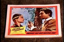 CAPT JOHN SMITH AND POCAHONTAS 1953 LOBBY CARD #6 NATIVE AMERICAN INDIAN WESTERN