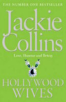 JACKIE COLLINS __ HOLLYWOOD WIVES _ GREEN  B FORMAT __ BRAND NEW __ FREEPOST UK
