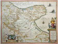 ITALIEN ITALIA CAPITANATA OLIM MESAPIAE PUGLIA FOGGIA BENEVENTO SCHIFFE 1640