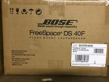 Bose FreeSpace DS 40F Loudspeaker with Transformer in White