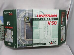 KATO UNITRAM N GAUGE 40-80 0 V50 STARTER SET, OB