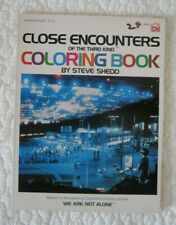 Close Encounters of the Third Kind Coloring Book - 1978 - Unused - Vgc -