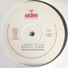 """NATURAL VIBES - COWBOY STYLE (EX STOCK COPIES AVAILABLE 12"""" INCH)"""