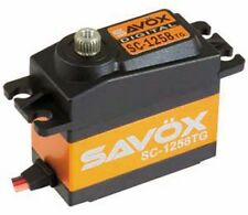 Savox SC-1258TG Super Speed Titanium Gear Digital Servo .08/166 SAVSC1258TG