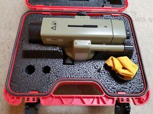 Leica NAK2 Precise Surveyors Automatic Level - 12 months calibration