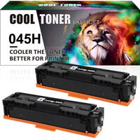 2PK Toner Compatible for Canon 045H 045HK ImageClass MF634Cdw LBP612Cdw MF632Cdw