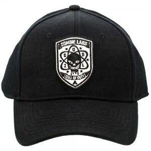 Call of Duty Black Ops ZOMBIE LABS LOGO Flex Cap/ BASEBALL HAT