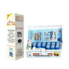 SBL 119 Homeopathic Home Kit With Burn Spray (Combo OF 2) (1 Kit in packet)