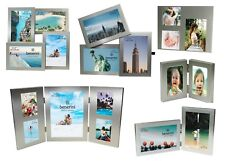 Silver Colour Multi Aperture Collage 2 3 4 5 Picture Multiple Large Photo Frame