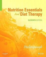 Nutrition Essentials and Diet Therapy by Nancy J. Peckenpaugh (2009, Paperback)