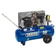 Draper Tools 50L 230V 2.2Kw (3HP) Belt-Driven Portable Air Compressor - 31253