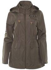 Brave Soul ladies/Womens/girls Ravebadge  Military Hooded Fishtail  Coat size 8