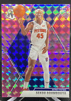 Sekou Doumbouya 2019-20 Panini Mosaic Pink Camo Prizm SP Rookie Detroit Pistons