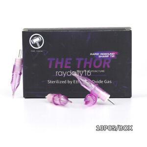 10Pcs/Box Sterile Disposable Tattoo Machine Nozzle Needle Tube Tips RL RM RS M1