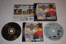 Grandia 2 Sega Dreamcast Video Game Complete