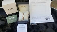 ROTARY LADIES BESPOKE 9k Gold watch (SWISS MOVEMENT) 18 month warranty remaining