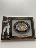 2009 TOPPS HISTORICAL COMMEMMORATIVE PATCH WILLIE MCCOVEY GIANTS CARD #LPR-133