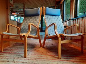 Sessel Clubsessel Vintage 60er Retro Easy Chair Danish Westnofa Mathsson Ära 1/2