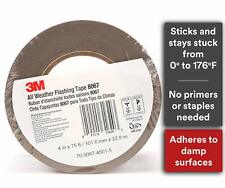 3M Flashing Tape All Weather 8067, 4 x 75 Roll, Split Liner,
