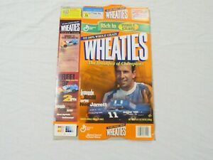 Ned Jarrett #11 Nascar Legends Of Racing Wheaties Cereal Box (Flat) 2000
