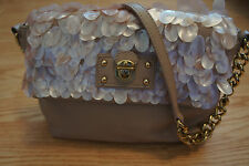 Marc Jacobs Single Sequins Flap Leather Handbag-New