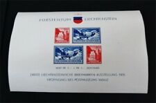 nystamps Liechtenstein Stamp # B14 Mint OG NH $60 F19y2860