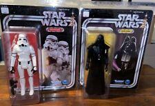 Star Wars Gentle gigantes figuras Jumbo X 2-Darth Vader + Stormtrooper-MOC 's