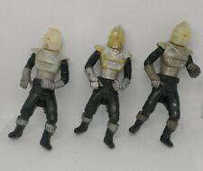 Battlestar Galactica Silver Cylon- 1978 lot of 3