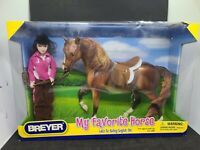 BREYER  MY FAVORITE HORSE  LETS GO RIDING ENGLISH SET (NEW IN BOX) #1409