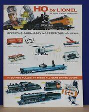 Lionel 1960 Consumer HO Train Catalog NOS Original NM