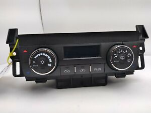2007-2011 BUICK LUCERNE Climate Control  AC Heater Temperature