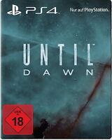 Until Dawn Special Steelbook Edition (Sony PlayStation 4, 2015) NEU&OVP