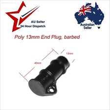 1 x Pope 13mm Barbed Poly End Plug.  garden water irrigation hose tubing tap cap