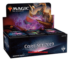 MAGIC THE GATHERING CORE SET 2019 BOOSTER BOX  SEALED