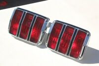 64-66 Ford Mustang Rear Tail Light Lamps Assembly Right Left Hand Set Pair New