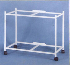 """2 Tier Rolling Stand For 30"""" x 18"""" x 18"""" Aviary Bird Flight Cage"""