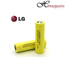 2 X LG HE4 18650 alto consumo 2500 mAh 35 A Batería