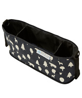 Keep Me Cosy™ Pram & Stroller Organiser, Cup Holder Caddy Bag - Woodland Friends