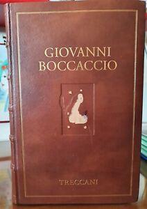 IL DECAMERON/ BOCCACCIO ED ILL. TRECCANI IN 4° LEG. PELLE ED. NUM: 130/1499