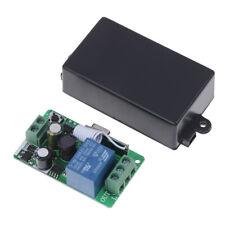 1-Channel AC 220V Wireless RF Remote Control Receiver Relay Switch 433MHz