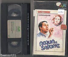 Acqua e sapone (1983) VHS CVR 1a Edizione  Verdone  Florinda BOLKAN